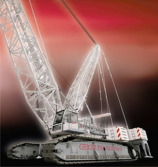 CC 2400-1 Lattice Boom Crawler Crane